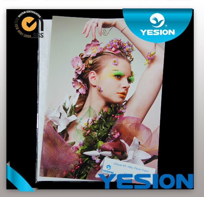 Professional Premium inkjet printing A3 A4 3R 4R rc waterproof odm photo paper 260gsm glossy/matte/satin/luster/rough/woven