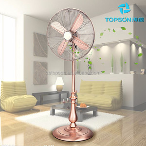 "Home appliance factory 16"" Matel Stand Fan with 4 blade"