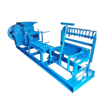 Automatic Red Clay Logo Burnt Brick Processing Making Machines Line