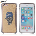 New arrive embroidery case shockproof for iphone 6 tpu material cover protective mobile phone case