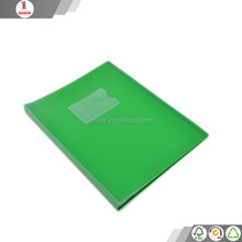 Shanghai factory durable folders with plastic sleeves