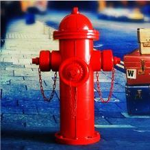 Wholesale stocked antique fire hydrant retro style ornament decoration metal <strong>craft</strong>