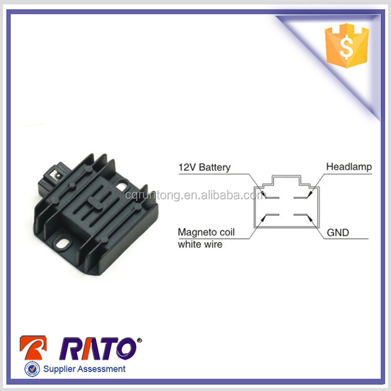 WY125 motorcycle voltage regulator rectifier for sale