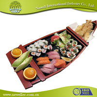 2014 Hot Sell blue flower design bamboo sushi rolls For Restaurant