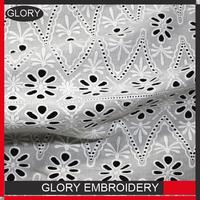 [GLORY]New design swiss lace for wig making swiss lace frontals white cotton lace fabric for dress