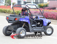 2016 new china made 4 wheel 7500w electric utv/4x4 Mini Jeep on Sale