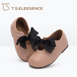 Stylish casual slip-on kids flats girls flats youth party dress shoes