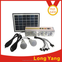 new product camping list 5w solar panel light built in 1w light with 3AH battery 3w power led light