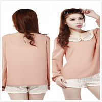 Pink Blouse 2013 New Design