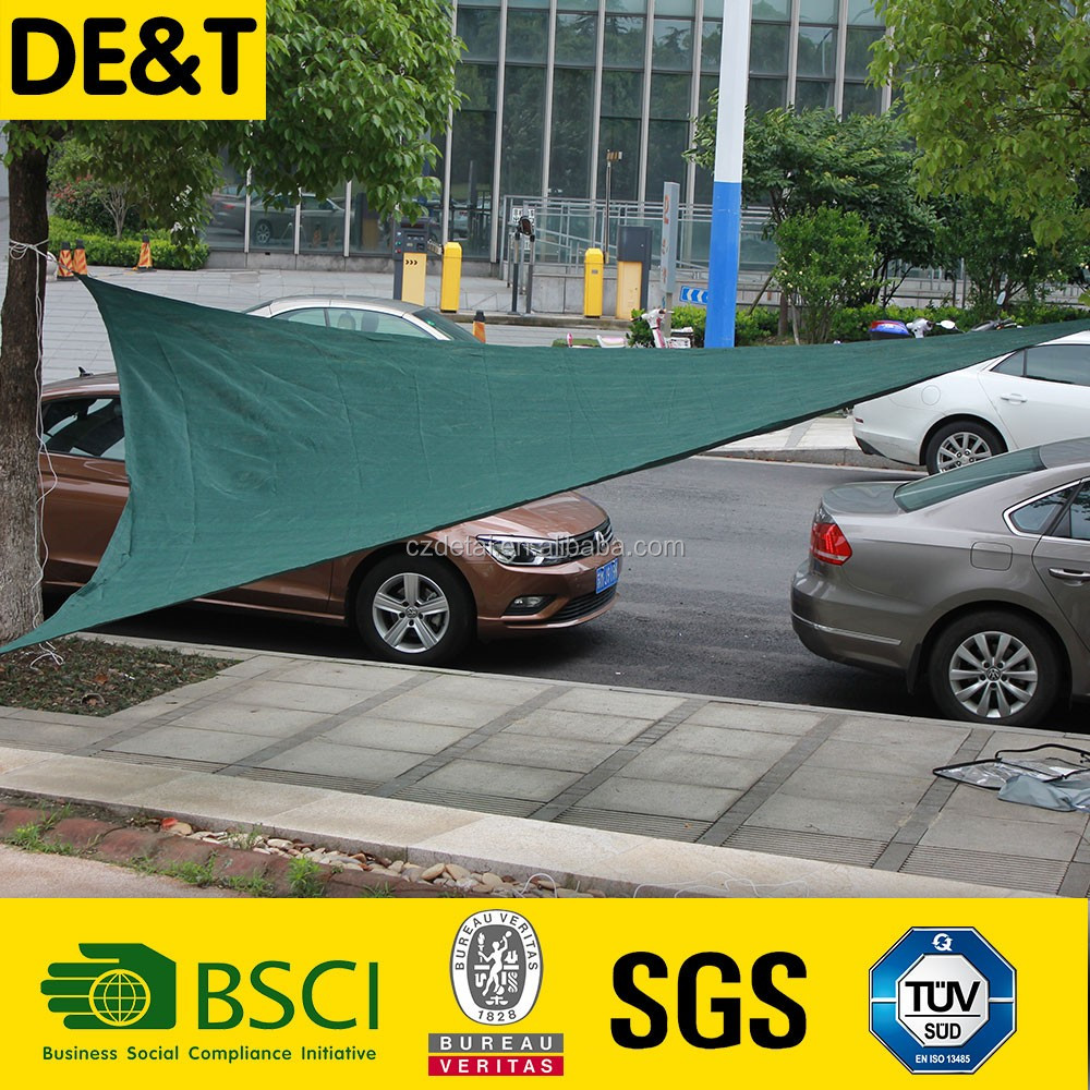 Long lifetime sun shade fabric, colourful garden outdoor hdpe roof shade nets, outdoor shade sail