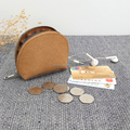 washable kraft paper shell eco-friendly wholesale cosmetic bag