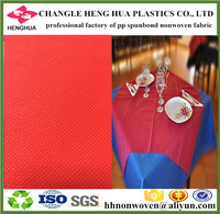 TNT non woven fabric for table cloth, gift packing, flower cover, bags making