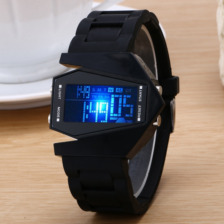 custom silicone led kids watches, cheap touch screen led kids wrist watches