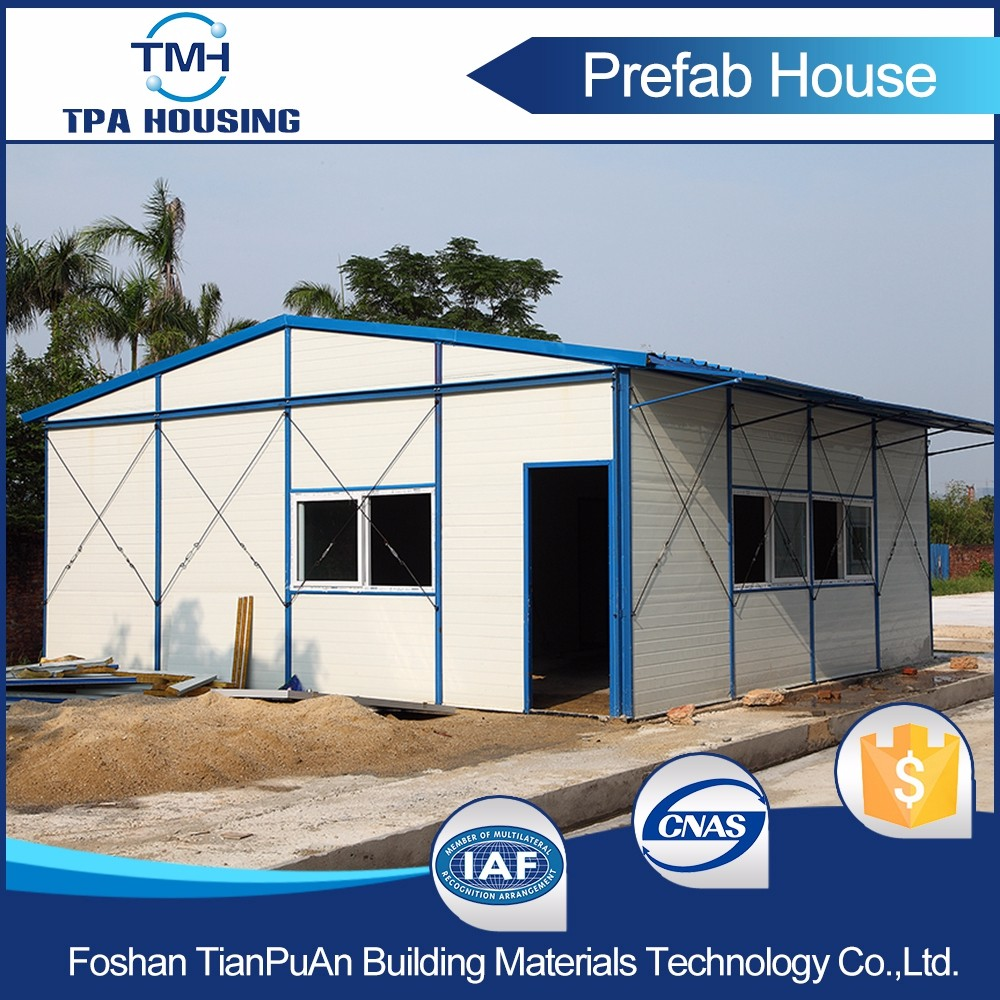 Cheaper Price Customized Prefabricated Flat Roof Modular House