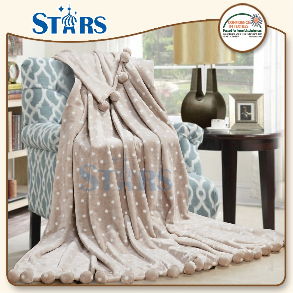GS-XYMTQ001-03 Anti-pilling polyester goostars brand names of blanket