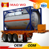 LNG Container Transport 3 Axle Flatbed