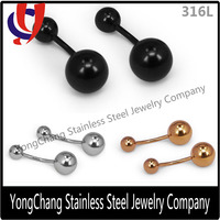 Good News!!Cheap Price Stainless Navel Banana Barbell Belly Ring On Sale