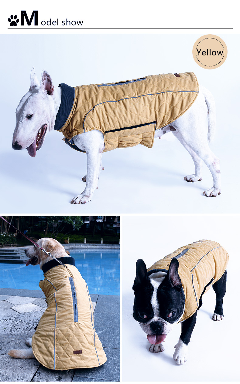 2017 Doglemi New Selling Winter Warm Pet Dog Jacket Coat Clothes