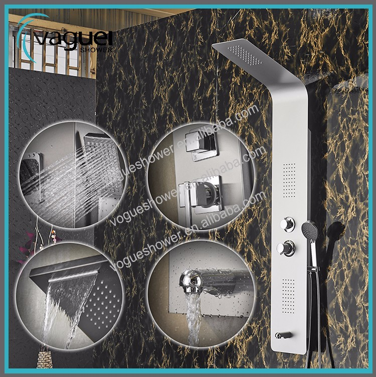 S9305 Zhejiang Taizhou Ceramic Valve Core Material And Shower Panels Bath & Shower Faucet Type Zhejiang Shower Panel