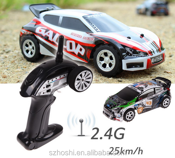 Wltoys A989 1:24 RC Car 2.4G Remote Control Toys 5CH Speeds 25KM/H Outdoor Fun Stunt Vehicle Model for Kids Toy