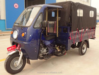 200cc Motorized Cargo Tricycle with Cabin Open/3 Wheel Motorcycle Cargo
