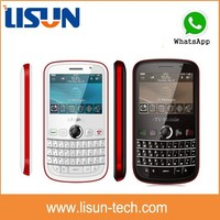 Unlocked qwerty keyboard Chinese mobile phone with wifi flaslight