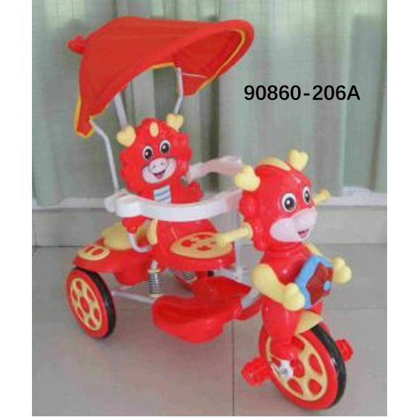 2 In 1 Stroller Good Price Wholesale Softtextile Baby Tricycle 90860-206A