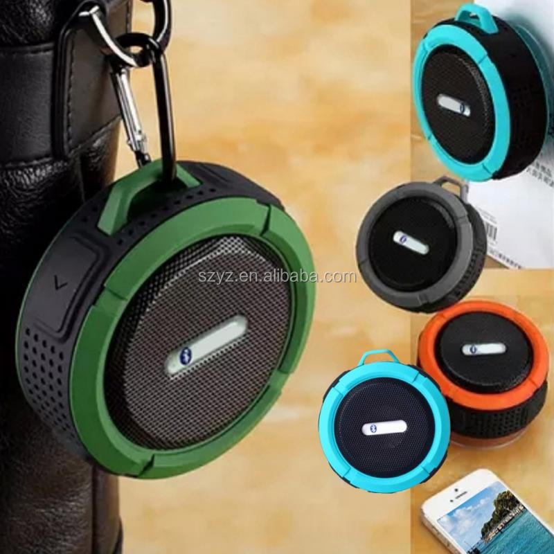 Rechargeable waterproof wireless 500mah portable trolley bluetooth speaker
