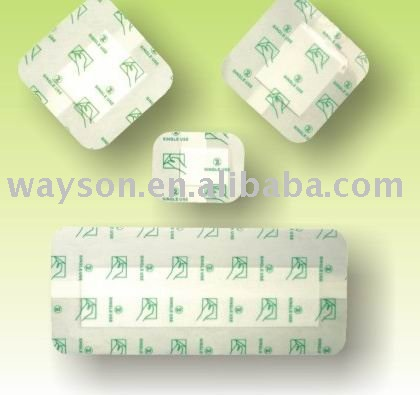 Waterproof and transparent wound dressing