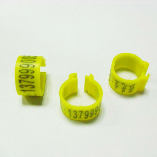 free shipping Plastic snap ring for your pigeon or bird with your name or mob ,<strong>001</strong>,002,003 numbered ring open ring