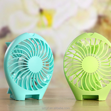 mini usb portable mini electric handheld plastic hand fan