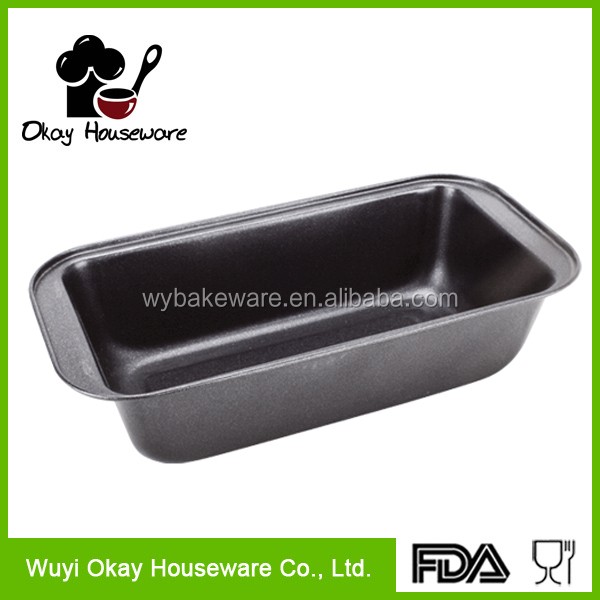 LOAF TIN CAKE PAN OVEN BAKEWARE METAL/NON STICK COATED BAKING BREAD TRAY(BK-D1003)