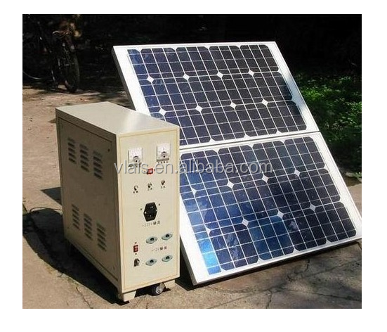 Portable home use solar power system 1kw
