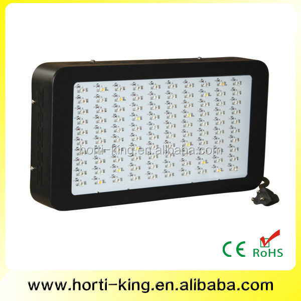 CE Listed 300W LED Panel Grow Lamp for Greenhouse Herbal Growing