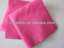 fireproof needle punched nonwoven felt fabric for craft use