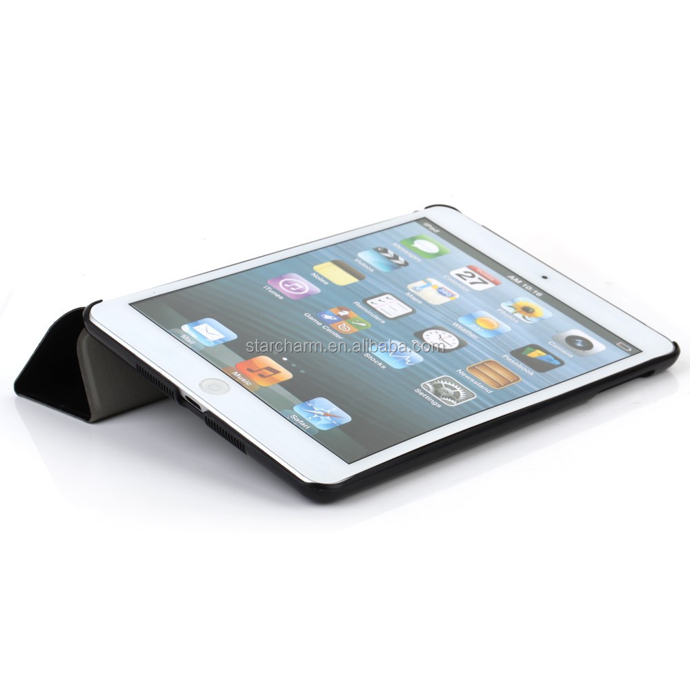 2014 new arrival Classical flip leather case for Apple Ipad Air