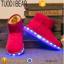 China Top Quality Supplier Cheap Snow Boots For Women with led light up