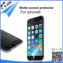3 layer factory matte film screen protector for smart cell phone samsung iphone/HTC safeguard screen film