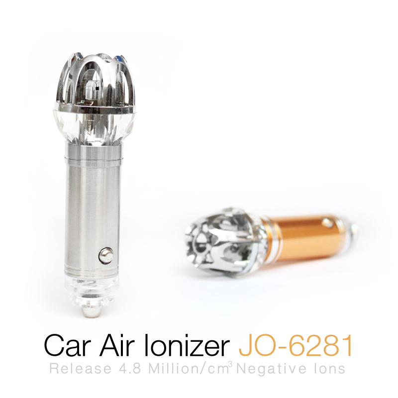 New Products 2017 Innovative Product In Car Crystal Air Purifier Ionizer