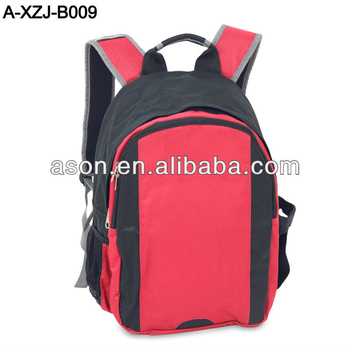 Promotional school backpack bag
