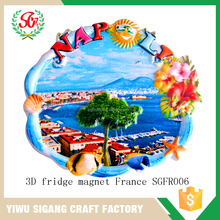 Cheap Wholesale Tourist Souvenir Fridge Magnet, Fridge Magnetics Polyresin