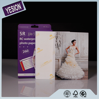 Yesion High Quality Inkjet Photo Paper, RC Photo Paper 260gsm Satin & Glossy