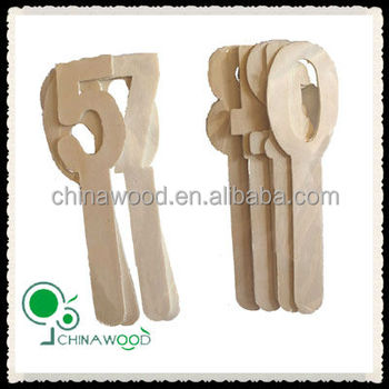 wood stick number and alphabet