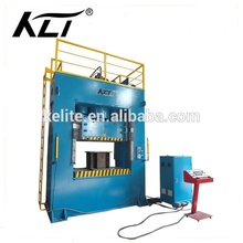 H frame drawing and stamping kitchen utensils hydraulic press machine for stainless steel containers die machine