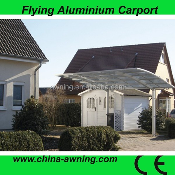 Outdoor Used Durable Car Canopy,Car Parking Shelter,Aluminum Carport/ retractable carport