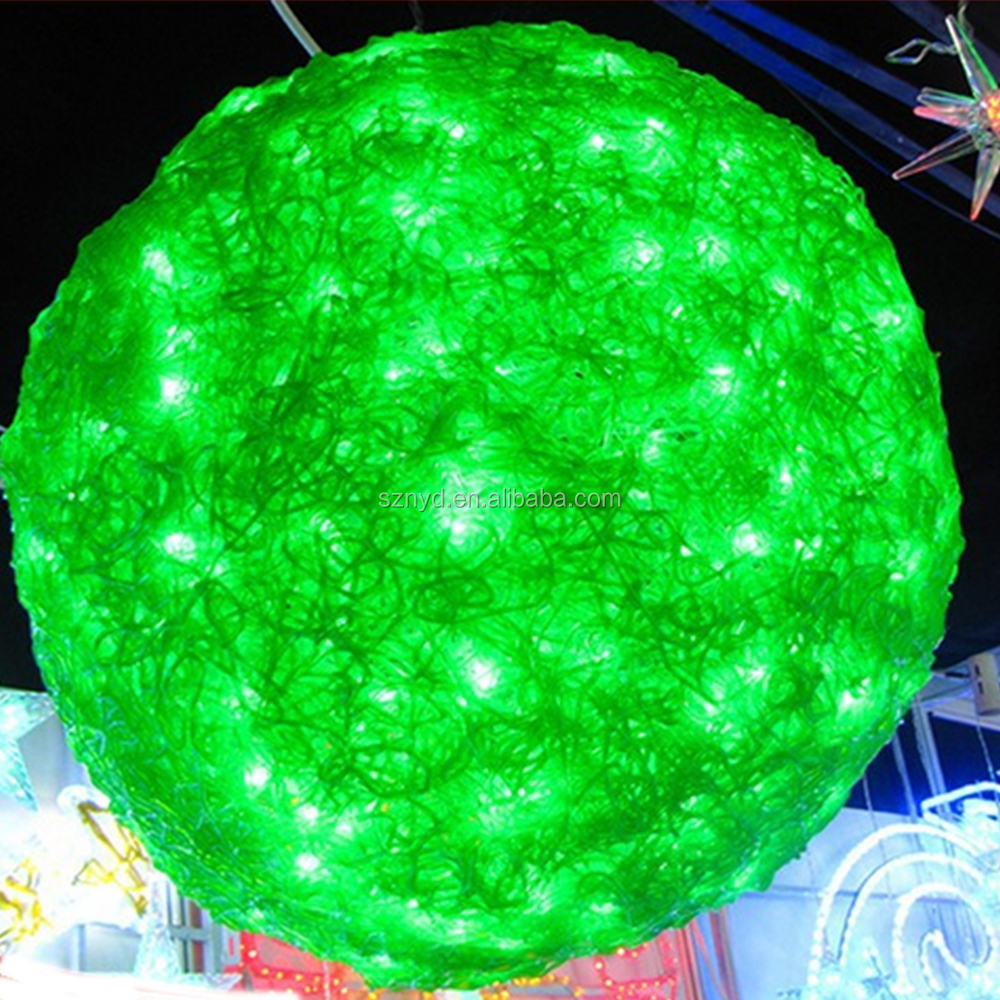 Outdoor christmas led light ball outdoor christmas lighted for Outside christmas balls