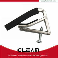 Guitar capo for acoustic guitar