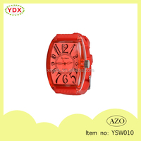 YSW010 Silicone Sweet Friendship Watch LOVE Western Style