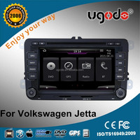 chinese supplier auto radio car dvd gps navigation with mirror link bluetooth for 2014 jetta gps