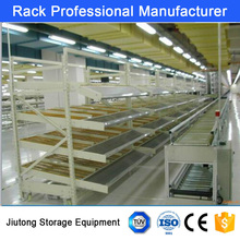 Cheap Price High Quality Wholesale Warehouse Storage Gravity Flow Stainless Steel Shelf